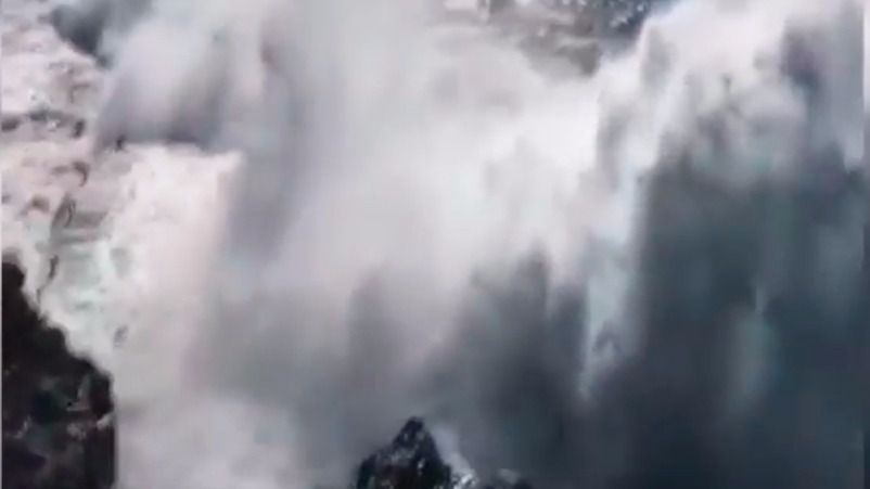 Dos muertos tras recibir un golpe de ola en Tenerife