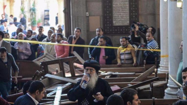 Doble atentado contra iglesias coptas en Egipto
