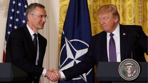 Trump recula y dice que la OTAN