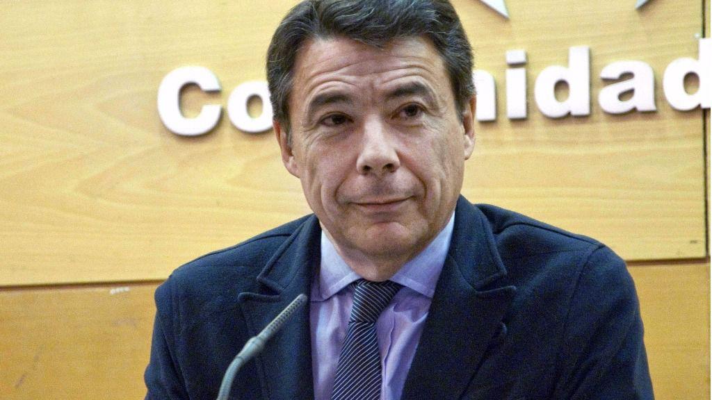 Ignacio González pasa su primera noche en los calabozos