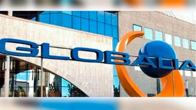 Imagen de la entrada de la sede de la compañía en Llucmajor