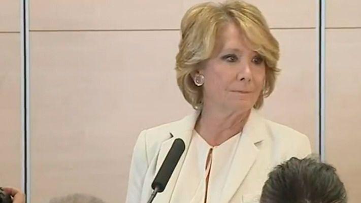 Aguirre dimite como concejal y portavoz del PP en el Ayuntamiento