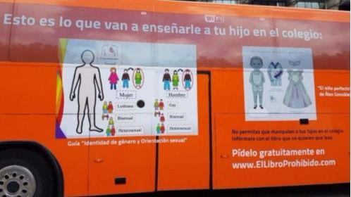 Nuevo bus de HazteOir: