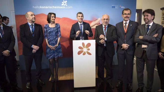 Clavijo aspira en la ITB a distanciar Canarias de los estereotipos