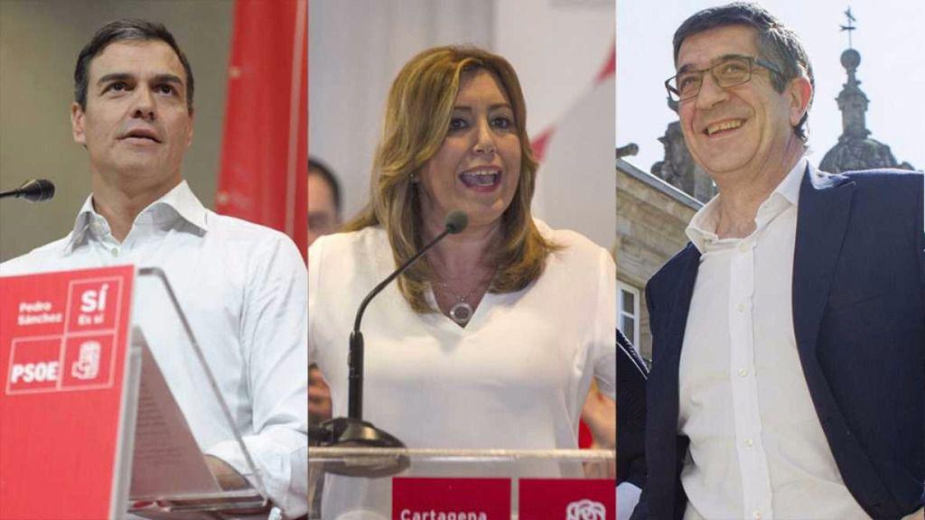 Susana Díaz presenta 62.617 avales frente a los 57.369 de Pedro Sánchez
