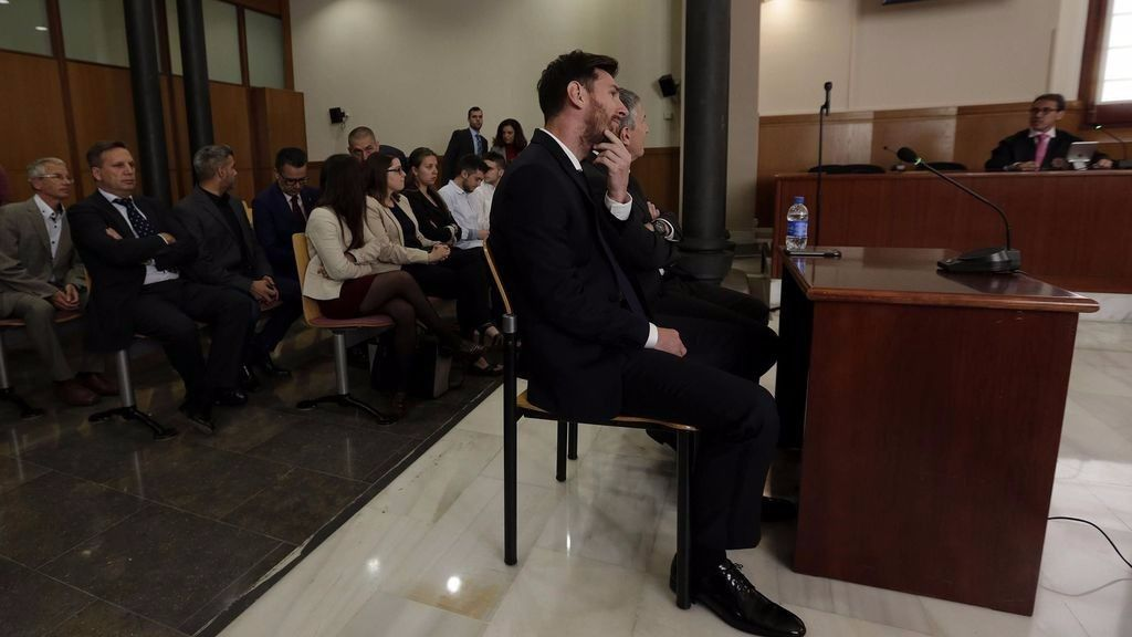 El Supremo confirma 21 meses de cárcel para Messi