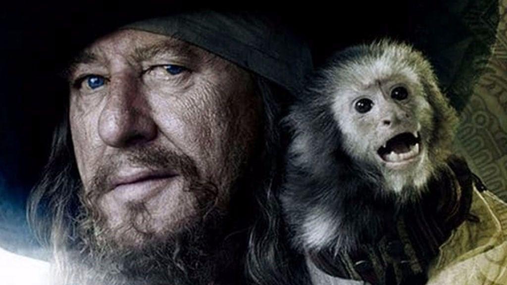 Peta denuncia el maltrato al mono de 'Piratas del Caribe'