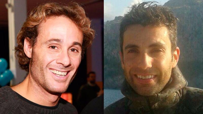 David Servera y Eduardo Covas