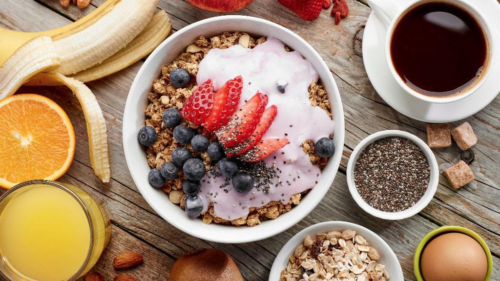 Un desayuno completo es la base de una alimentación equilibrada