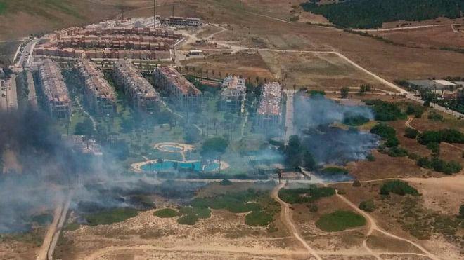 Nuevo incendio en Huelva: hay 140 personas desalojadas