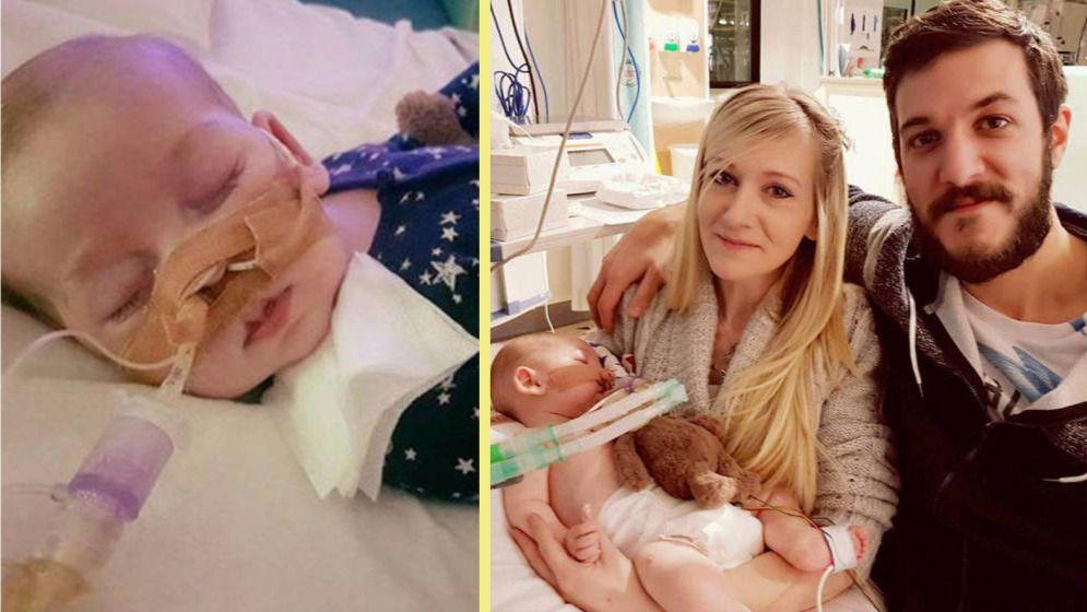 Los padres del bebé Charlie dejan de luchar por el tratamiento de su hijo