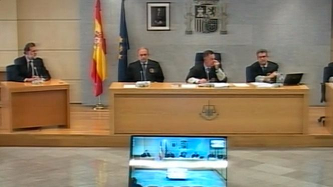 Rajoy declara como testigo en la Audiencia Nacional por Gürtel