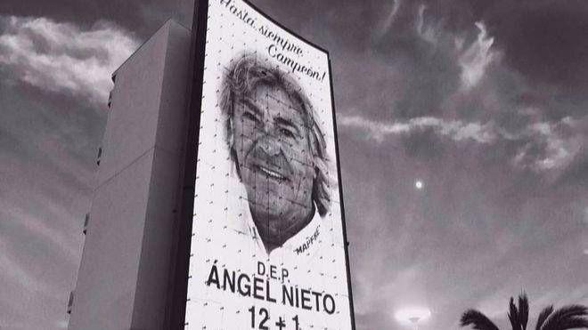 Los restos mortales de Ángel Nieto serán incinerados en Ibiza