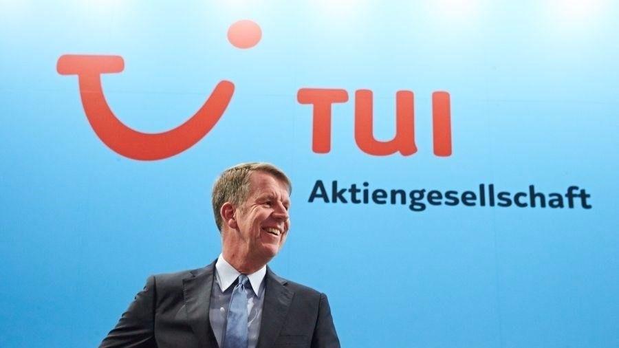 El consejero delegado Fritz Joussen