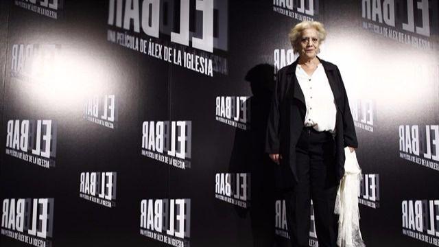 Muere la actriz Terele Pávez tras sufrir un derrame cerebral