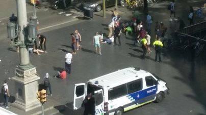 El ataque terrorista en Barcelona causa 14 muertos y más de 100 heridos