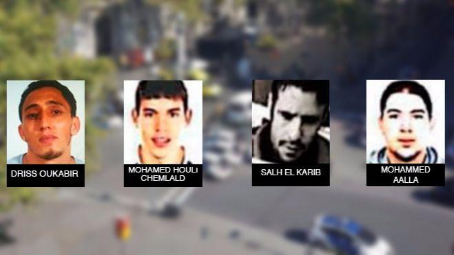 Los detenidos por los atentados declaran en la Audiencia Nacional sobre los apoyos que tuvieron