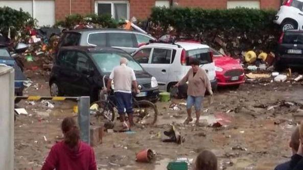 Seis muertos y tres desaparecidos por un temporal en la Toscana