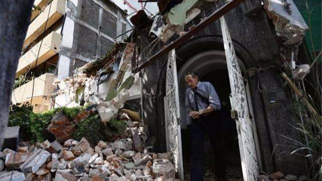 225 muertos por el terremoto de magnitud 7,1 en México