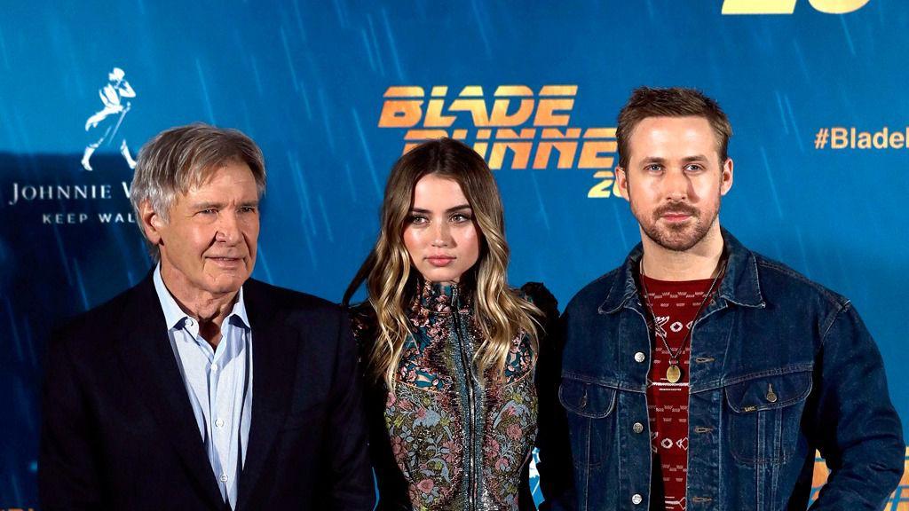 Harrison Ford y Gosling presentan la secuela de 'Blade runner'