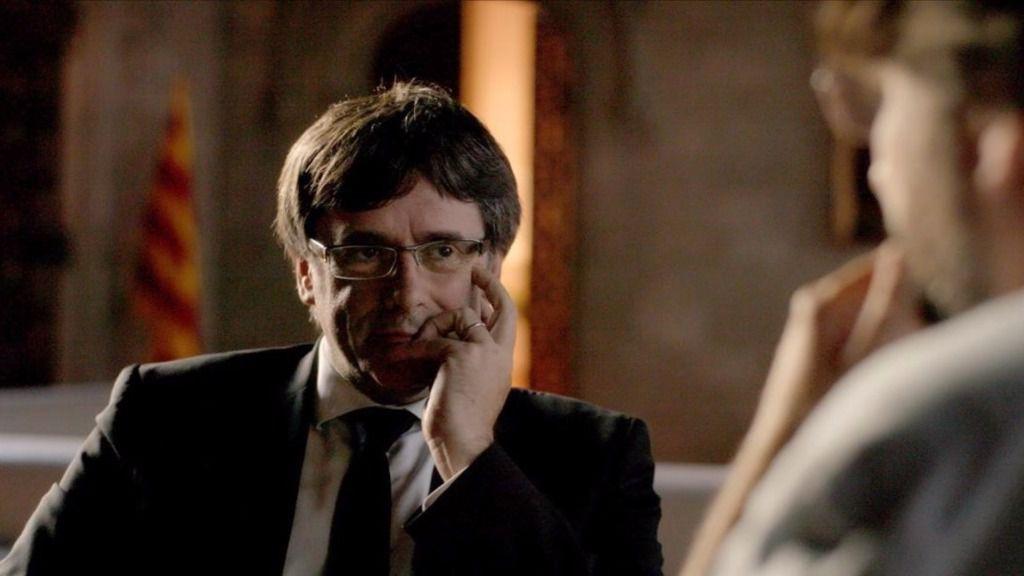 Évole supera a TV3 con su entrevista a Puigdemont