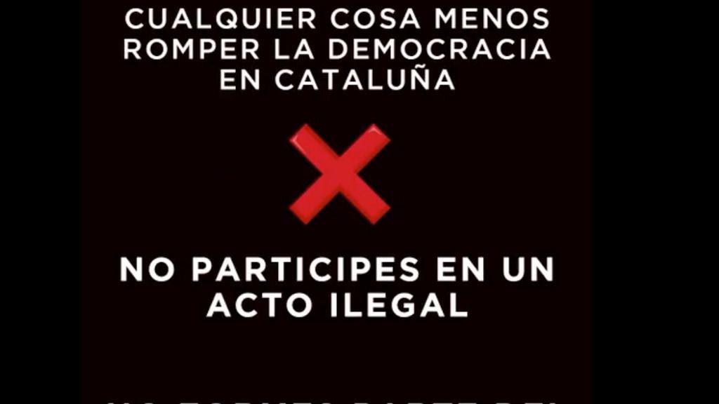 El PP pide hacer 'cualquier cosa' menos 'romper la democracia en Cataluña'