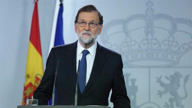 Rajoy defiende su actuación en Cataluña