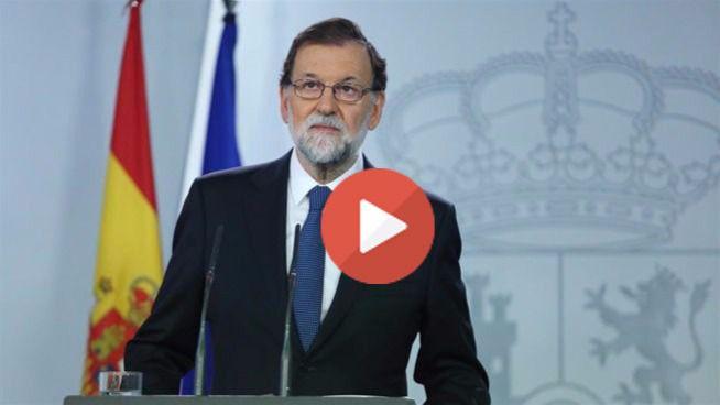 Rajoy convoca a las fuerzas políticas para debatir la situación institucional