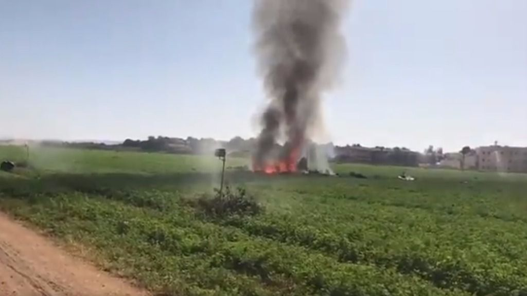 Fallece el piloto de un caza Eurofighter estrellado en Albacete tras el desfile del 12 O