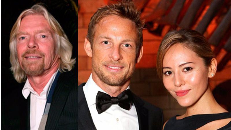Richard Branson intentó abusar de la mujer de Jenson Button, según el piloto de F1
