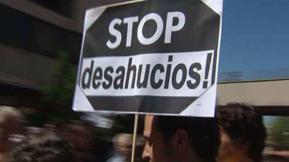 En España se producen 185 desahucios cada día