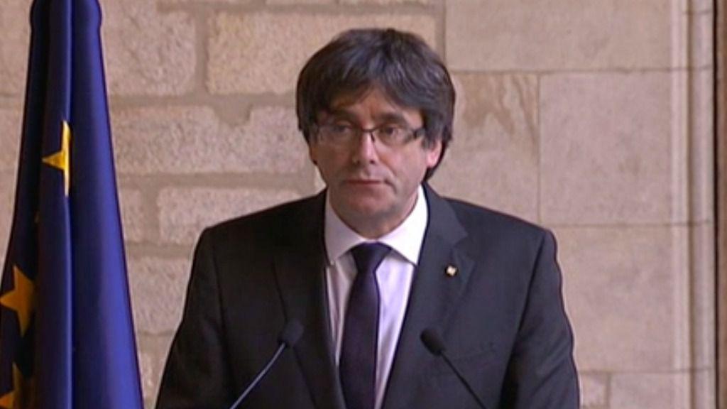 Puigdemont descarta elecciones