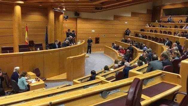 Rajoy acude al Senado a explicar las medidas 'graduales' de aplicación del 155