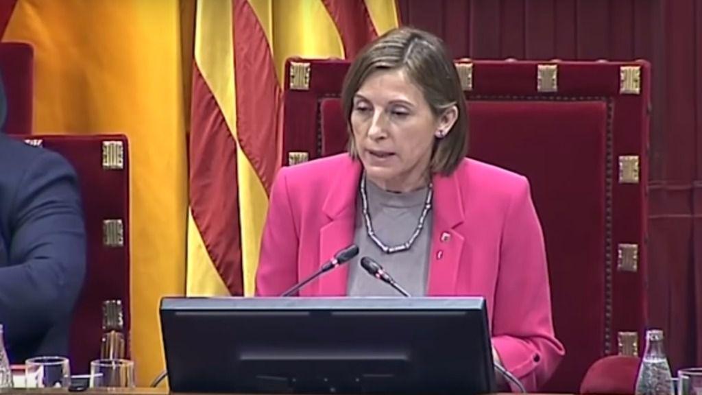 Fiscalía presentará la querella este lunes contra la Mesa y el Govern de la Generalitat