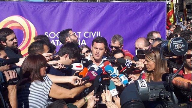 Rivera: 'Tenemos la oportunidad de nuestras vidas para poner fin al nacionalismo'