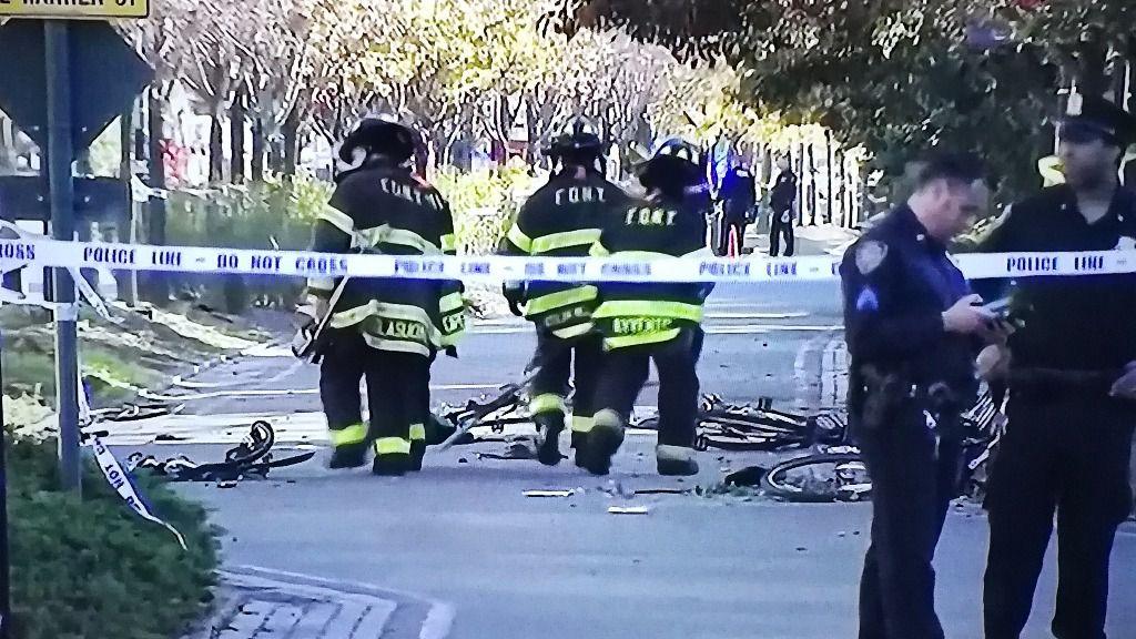Ocho muertos y varios heridos en un atropello y tiroteo en Manhattan