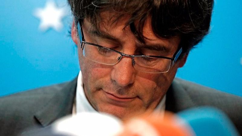 Puigdemont no acude a la Audiencia y pide declarar por conferencia desde Bélgica