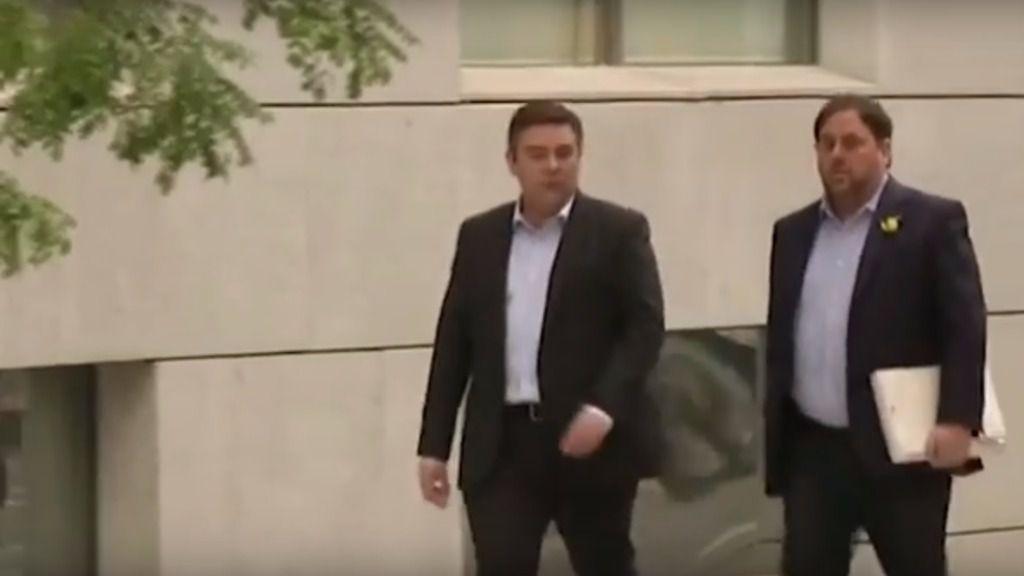 La jueza dicta prisión incondicional para Junqueras y 7 exconsellers de la Generalitat