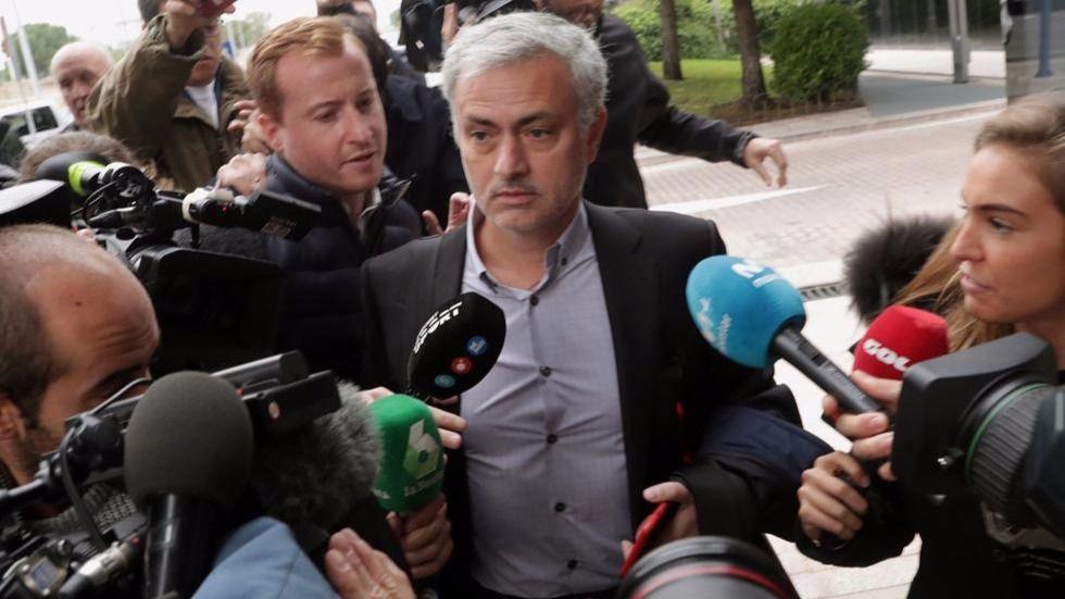 Mourinho declara ante el juez que su situación tributaria era legal