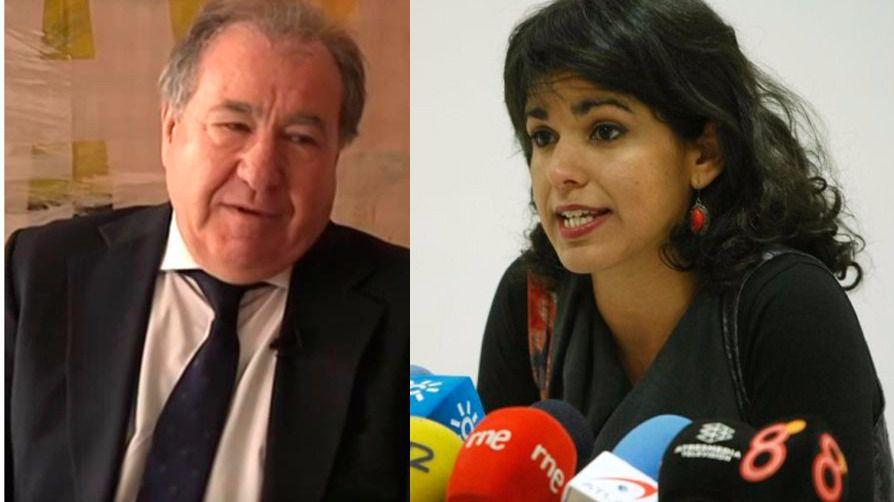 Procesado el hombre que simuló besar a Teresa Rodríguez: 'No fue una broma de mal gusto'