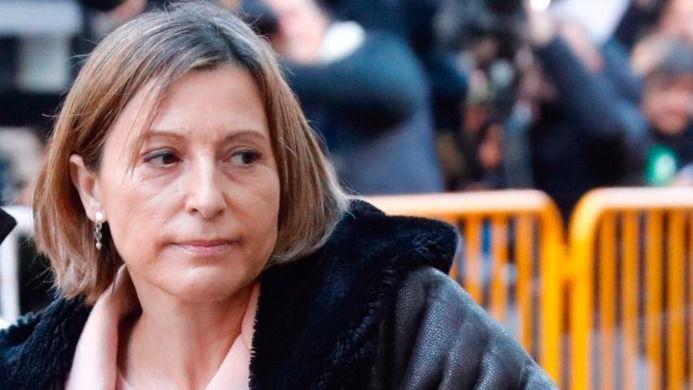 Forcadell reniega de la DUI y saldrá de la cárcel cuando pague 150.000 euros