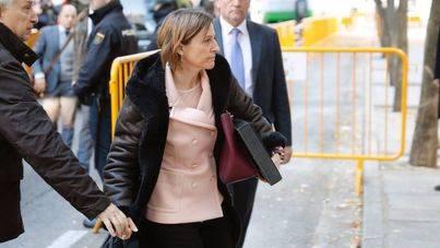 Forcadell sale de prisión al pagar la fianza de 150.000 euros impuesta por el Supremo