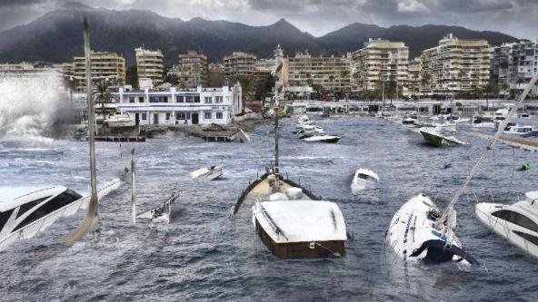 La NASA pronostica cómo se inundarán las ciudades situadas en la costa
