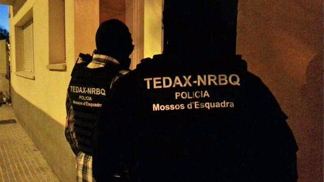 Operación contra el terrorismo yihadista en Barcelona