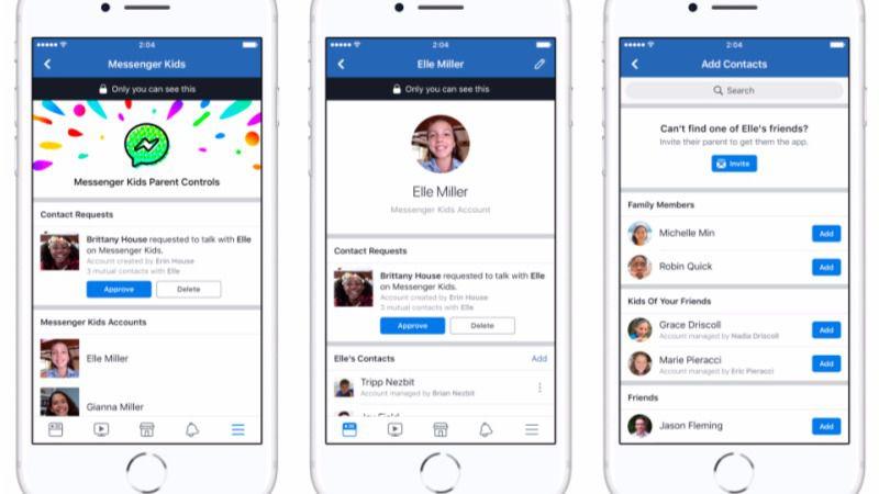 Facebook lanza un chat específico para niños: Messenger Kids
