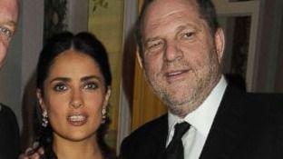 Salma Hayek acusa a Harvey Weinstein de ser 'un monstruo' y él niega que la acosara