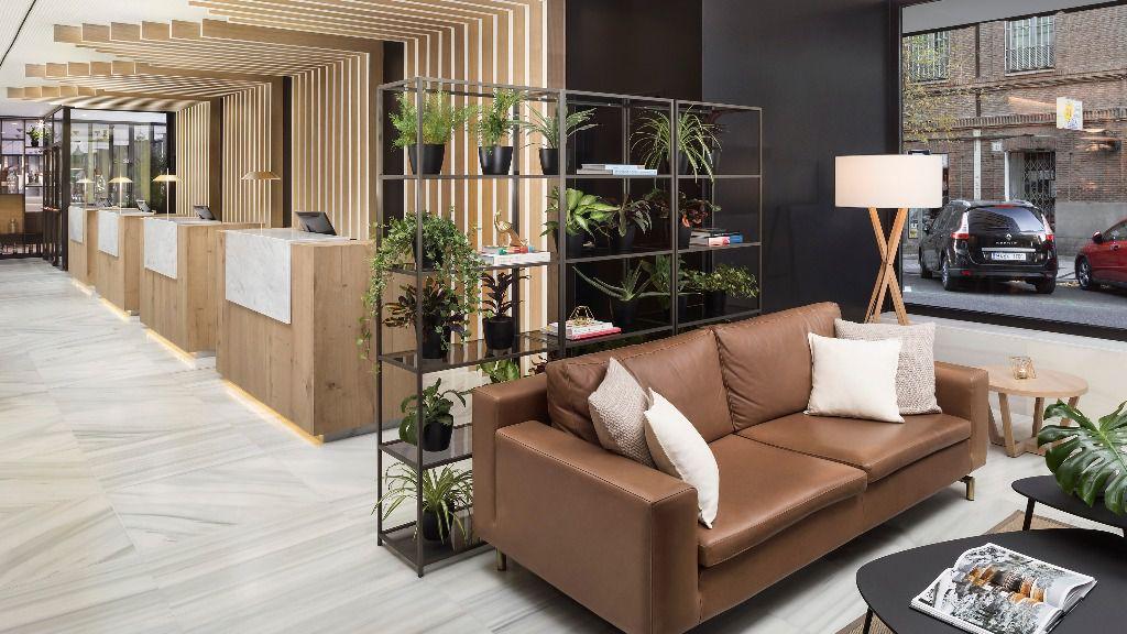 Una amplia reforma del antiguo hotel Los Galgos da paso al moderno Meliá Madrid Serrano