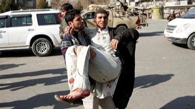Elevan a 95 la cifra de muertos en el atentado en Kabul