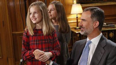 Felipe VI celebra su 50 cumpleaños imponiendo el Toisón de Oro a la Princesa de Asturias