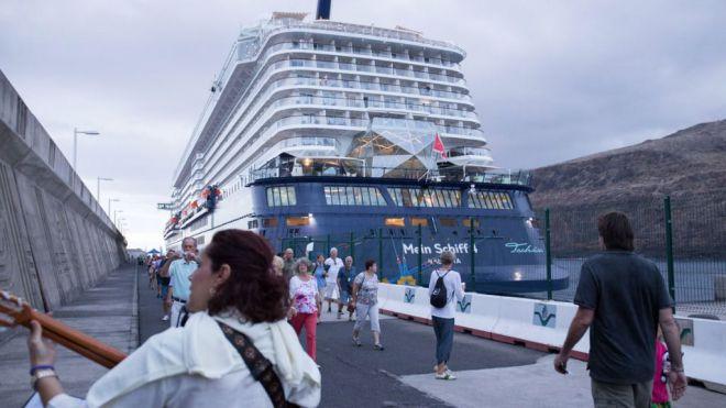 Más de 31.000 cruceristas aumentarán las posibilidades de desarrollo económico de La Gomera